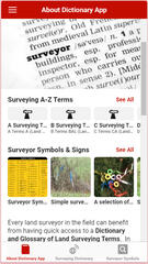 Land Surveyor Dictionary App