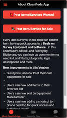 Surveyor Classifieds App