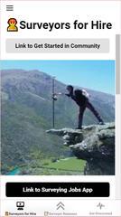 Surveyors for Hire App