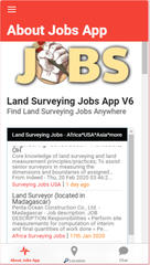 Land Surveying Jobs App